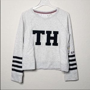 NWT Tommy Hilfiger Sport Cropped Pullover